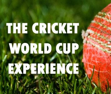 The Cricket World Cup Experience
