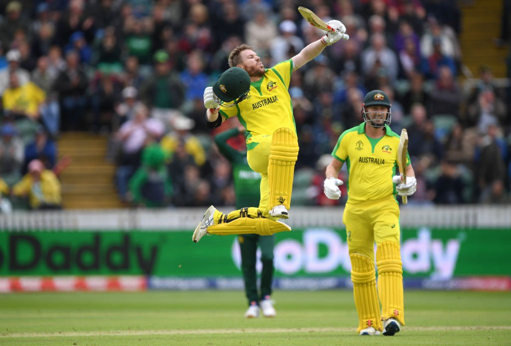 David Warner Cricket World Cup Australia Pakistan